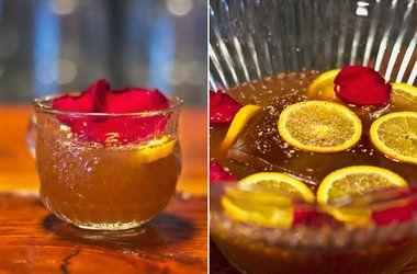Mistletoe Punch | DRINKS & COCKTAILS | Pinterest