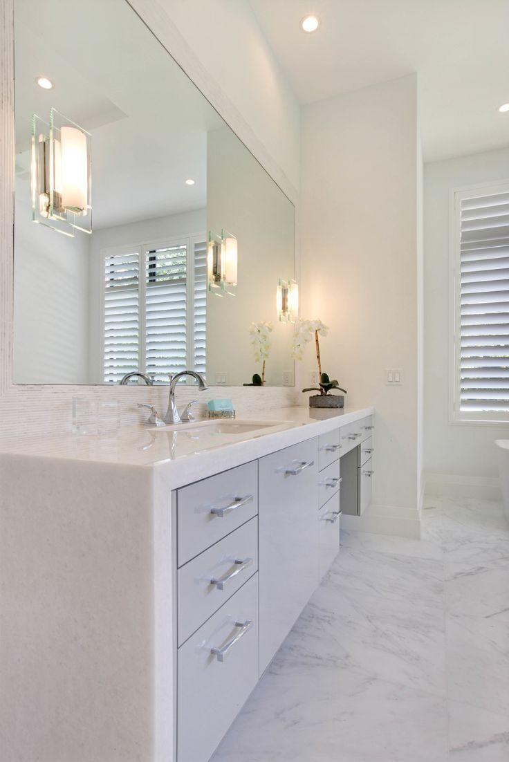 Image Result For Floating Bath Vanity With Waterfall Counters Master Bath Design Bathroom Design Bathroom Interior Design