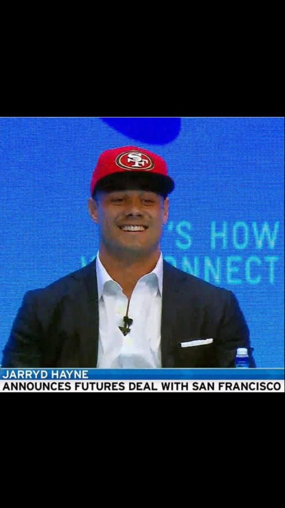 VIDEO: Aussie rugby star Jarryd Hayne highlights, signs NFL's 49ers