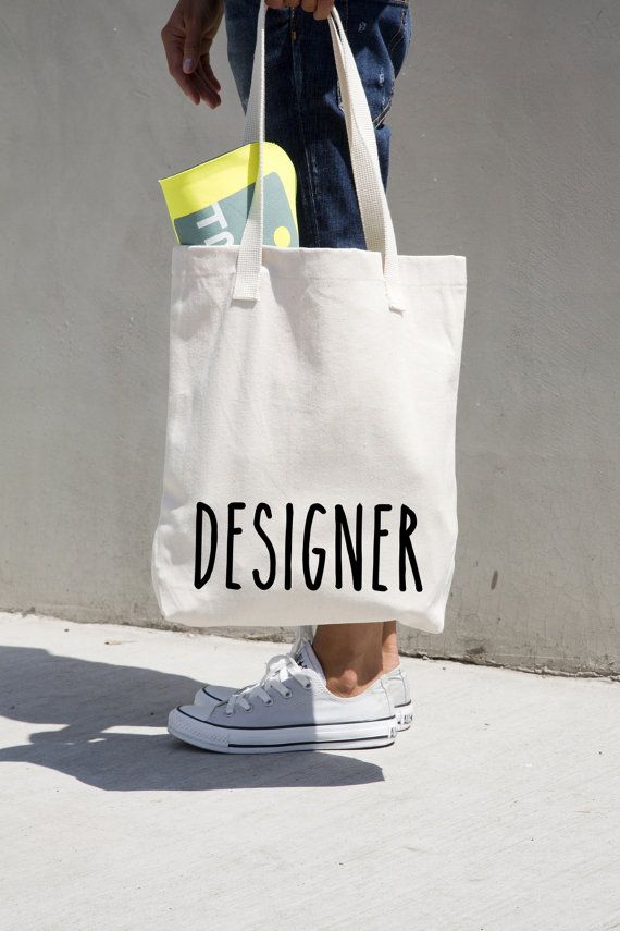 """Designer tote cotton bag, personalized, American Apparel high quality tote,14 3/8"""" x 14""""/36.5 x 35.6 cm, natural tote black application.#MONOFACES"""