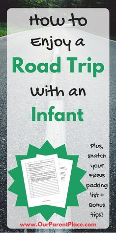 If you're planning on taking a road trip with an infant, you need to snag my quick tips! You can thank me later.