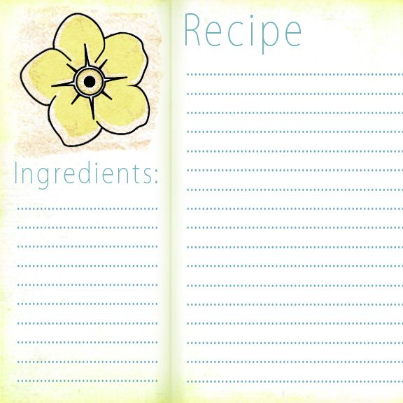 1273 Best Images About Recipe Cards/Pages/Covers/Binder