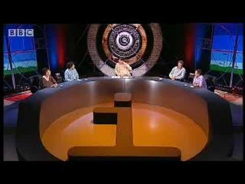 """What smells like geraniums"" - QI - BBC ""Atoms"" Series A, Episode 4 with Jo Brand, Howard Goodall, Jeremy Hardy, Alan Davies and Stephen Fry"