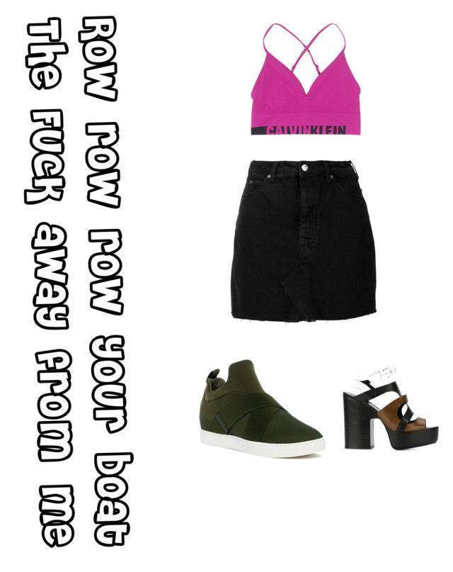 """""""Not Done"""" by amandalowenborg on Polyvore featuring IRO, Calvin Klein Jeans, Pierre Hardy and Steve Madden"""