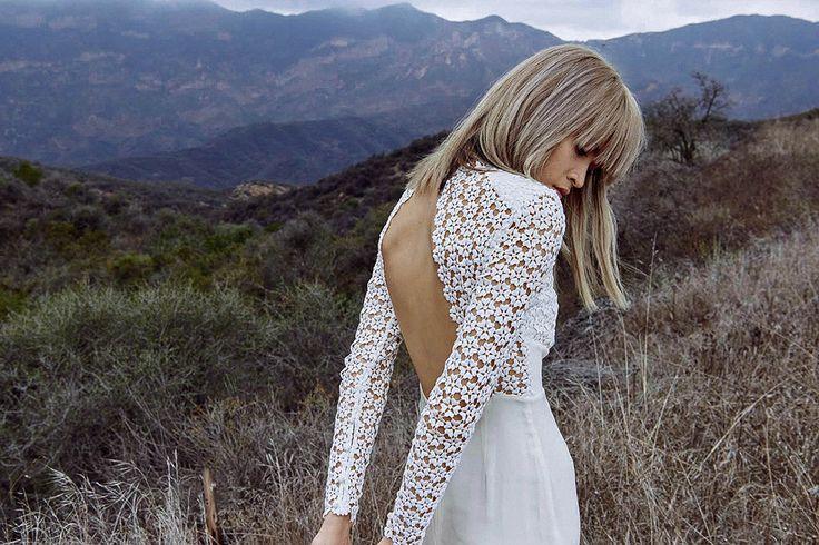 В платье белом: первая свадебная коллекция марки Self-Portrait   Мода   Новости   VOGUE