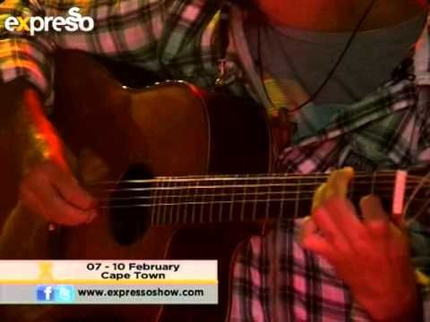 "Nibs van der Spuy and Guy Buttery  perform ""I know this place "" (13.2.2013)"
