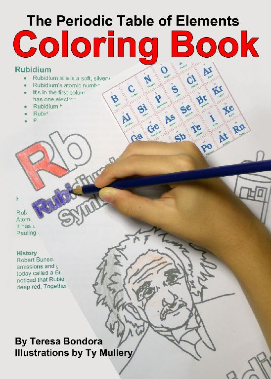 Periodic Table For Children E Book The Author Made A Kids