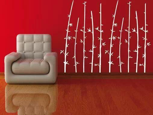 pared roja