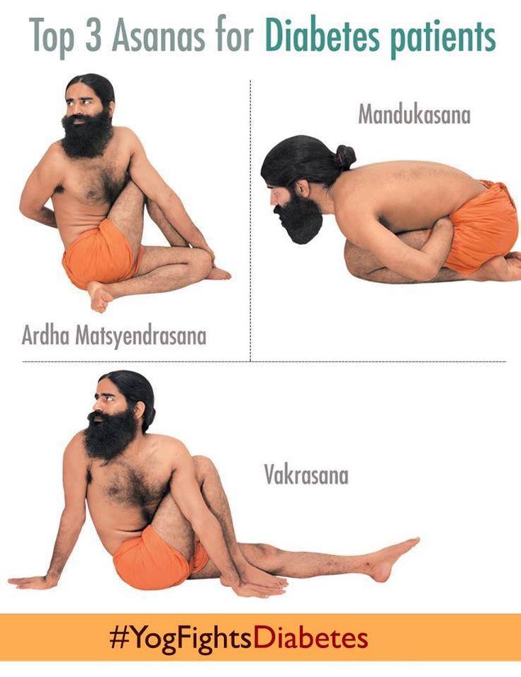 3 yoga poses for diabetes  #YogFightsDiabetes #MannKiBaat #Yoga #Ayurved #Diabetes
