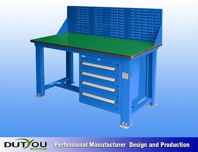 Workshop Worktable, Steel Workbench with Drawers Photos & Pictures