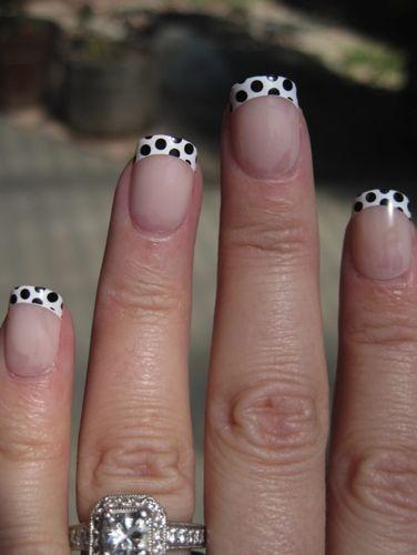 Polka Dot Tips! These are sooo cute.