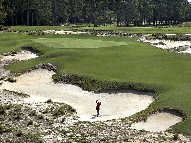 Where else y'all playing? Residents of Pinehurst, N.C, proud to share their historic turf