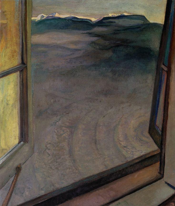 Varley - Open Window, 1932