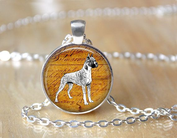 Boxer Dog, Nature Lover, Dog Rescue, Art Pendant Necklace or Key Chain
