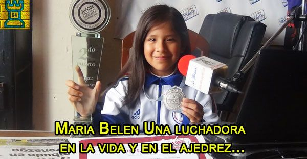 Perú.- Niña campeona de ajedrez pide apoyo a la primera dama - Torre 64