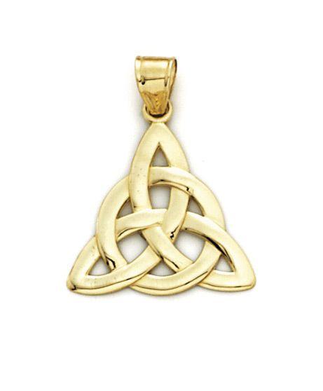 Mejores 38 imgenes de 14k gold jewelry en pinterest pendientes de 14k gold celtic knot pendant aloadofball Image collections