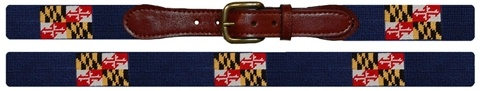 Smathers and Branson Maryland flag belt