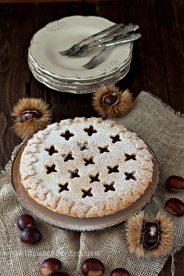 La Cuoca Dentro: Torta di castagne e cioccolato