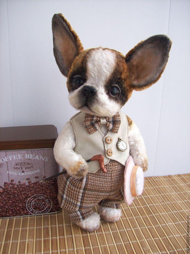 Купить Буба - белый, тедди, тедди в подарок, друзья тедди, собака, собака…