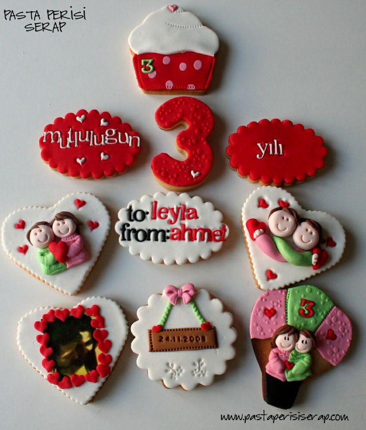 yıldönümü kurabiyeleri