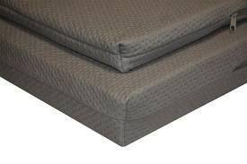 Dit oplegmatras van Defa zorgt voor extra comfort. Het matras is gemaakt van NaSa traagfoam en vormt zich perfect naar je lichaam. Geen slechte nachtrust op de camping meer dus! >> http://www.kampeerwereld.nl/oplegmatras-grijs-dubbel/