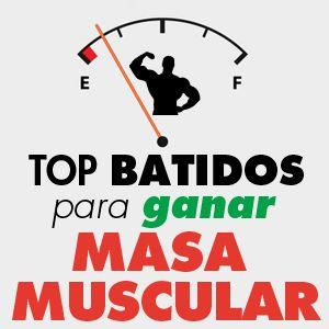 Batidos Masa Muscular
