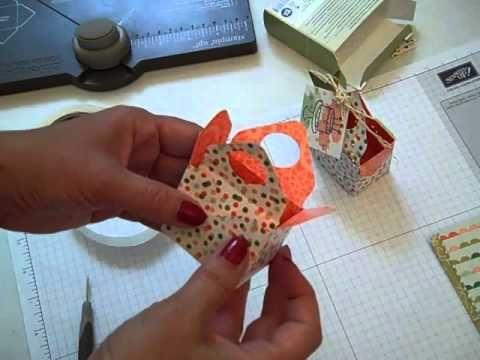 Envelope Punch Board Treat Box Stampin' UP!