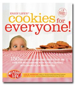 Just bought 4 of these books so I can share with family & friends. :) Enjoy Lifes Cookies for Everyone by Leslie Hammond and Betsy Lasskso. Cookies without top allergens & gluten.