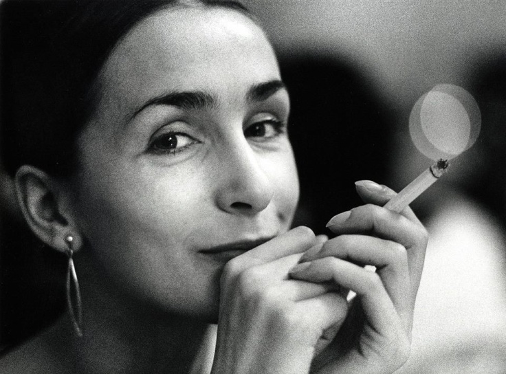 Walter Vogel - Pina Bausch mit Zigarette, 1967