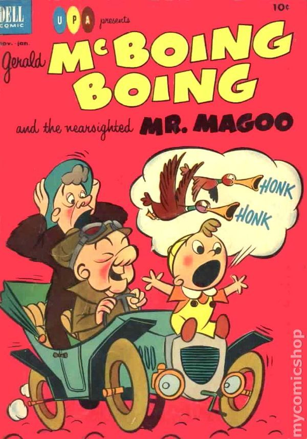 Gerald Mcboing Boing And The Nearsighted Mr Magoo 2 -3254