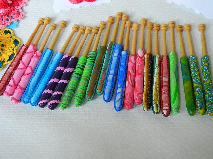bolillos de colores