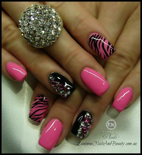 53 best pretty nails images on pinterest nail scissors nail pink prinsesfo Image collections