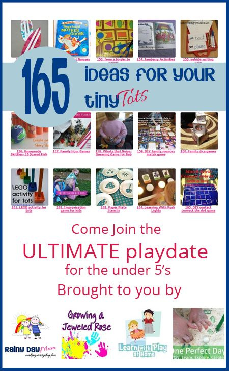 Come be inspired and link up your fun activities and ideas for the Under 5's at the Ultimate Playdate for the tots cohosted by Rainy Day Mum, Growing a Jeweled Rose, Learn with Play at Home and One Perfect Day