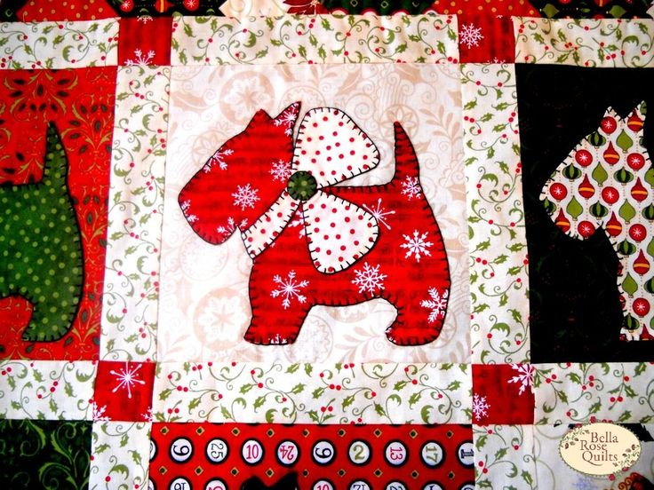 Quilt Pattern For Scottie Dog : 925 best images about Scotties to Make on Pinterest Christmas cards, Quilt and Cross stitch