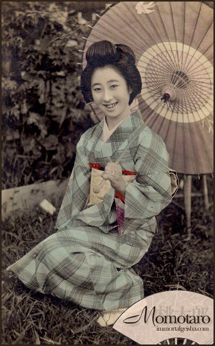 Momotaro - Taisho Era Geiko -
