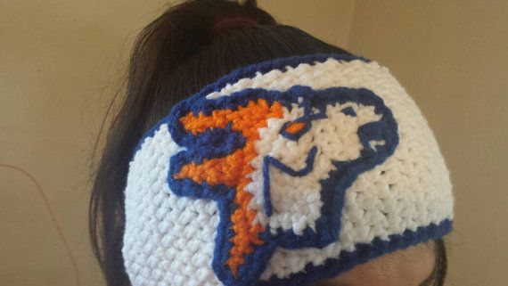 Check out this item in my Etsy shop https://www.etsy.com/listing/265701802/denver-broncos-inspired-ear-warmer