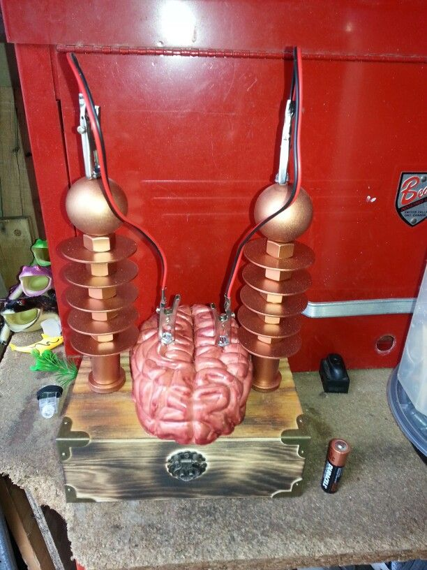 """Finished """"Brain Booster"""" mad scientist lab prop"""