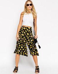 Culottes - Falda pantalón de conjunto de pernera ancha con estampado floral de ASOS