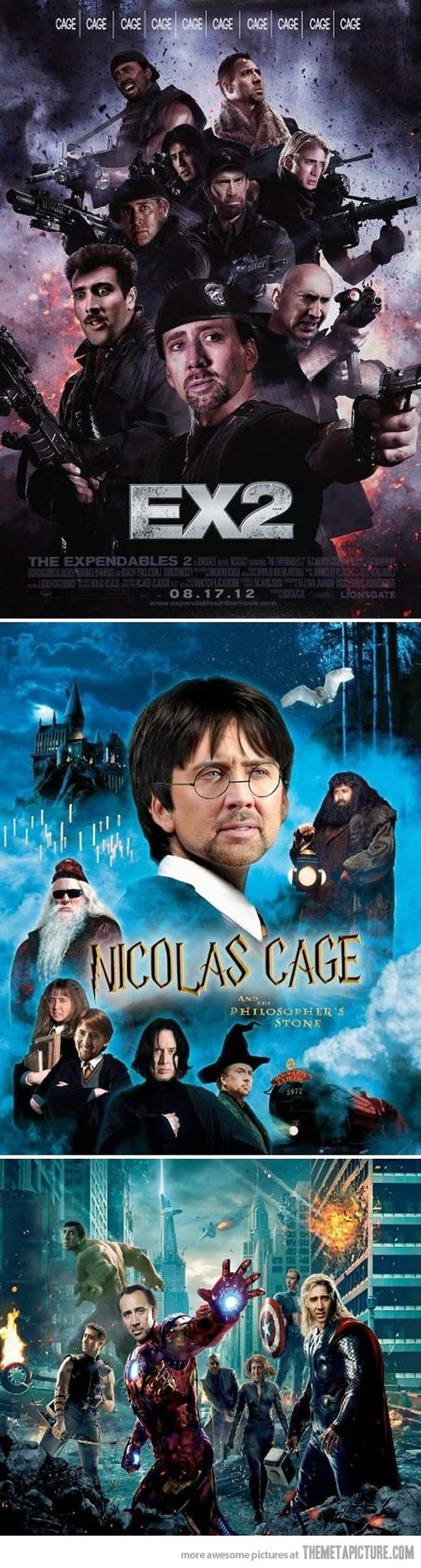 Nic Cage is in everything these days