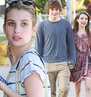 Emma Roberts arrested for domestic violence after hitting boyfriend Evan Peters