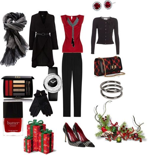 Amazing Christmas Party Outfits 2013/ 2014 | Polyvore Xmas Costumes Ideas | Girlshue