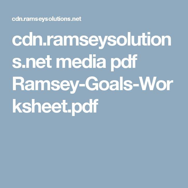 cdn.ramseysolutions.net media pdf Ramsey-Goals-Worksheet.pdf