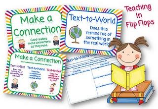 .: New Stuff, Connection Poster, Teaching Reading, Teacher Blog, Make Connection, Flip Book, Classroom Ideas, Making Connections, Reading Connection