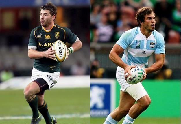 Full of tricks: Willie le Roux and Argentina's Juan Martin Hernandez both possess the x-factor that can change a game. (Getty Images)