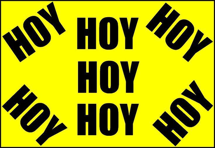 HOY >>> HOY >>> HOY Atentos a mis #RedesSociales