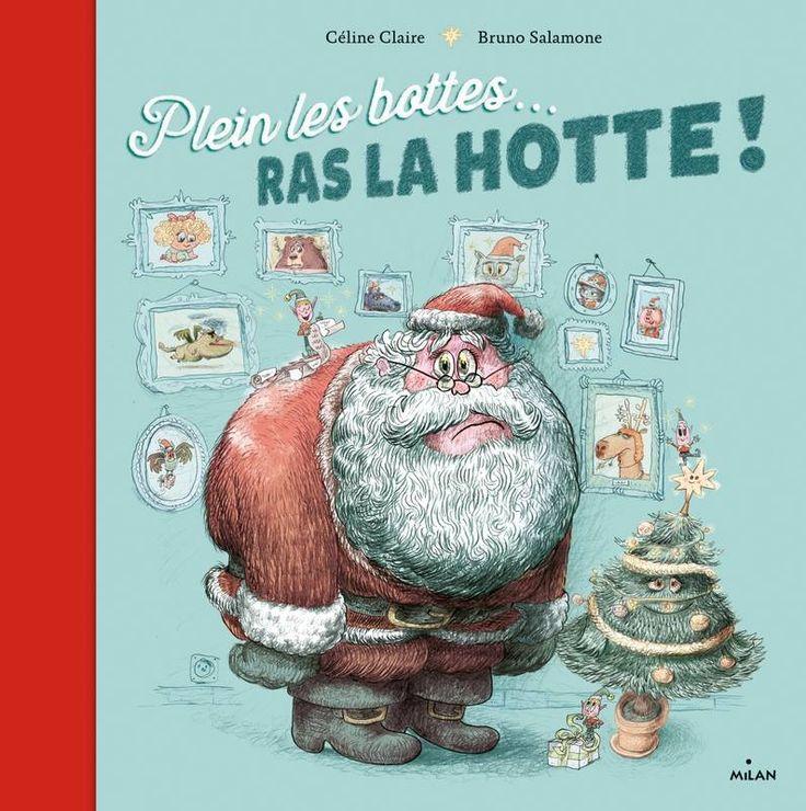 Album CP Noël plein les bottes ras la hotte