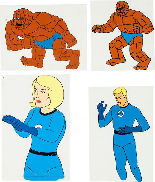 Fantastic 4 Cartoon Characters : Best images about fantastic four on pinterest stan