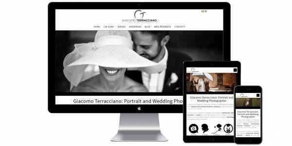 Il fotografo Giacomo Terracciano ci ha commissionato il restyle della propria immagine online, oltre ad una consulenza SEO per il posizionamento sui motori di ricerca.  Sito: www.giacomoterracciano.it