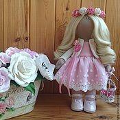 Купить или заказать Кукла ручной работы Diana в интернет магазине на Ярмарке Мастеров. С доставкой по России и СНГ. Материалы: трикотаж, трикотаж белый ангел,…. Размер: 30см
