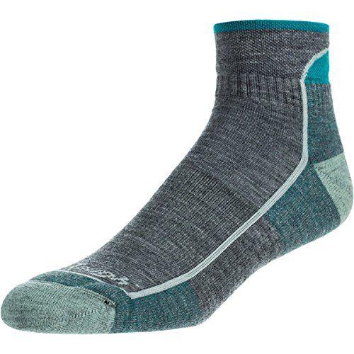 (ダーンタフ) Darn Tough レディース インナー ソックス 1/4 Crew Cushion Merino Wool Hiking Sock 並行輸入品  新品【取り寄せ商品のため、お届けまでに2週間前後かかります。】 カラー:Slate カラー:ブラウン